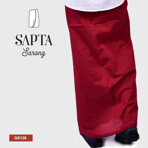 Handloom Glossy Cotton Sapta Sarong GS126