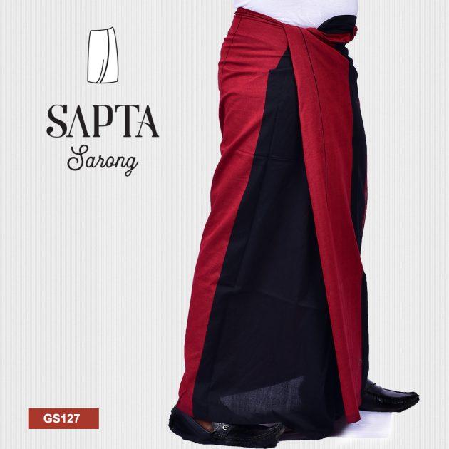 Handloom Glossy Cotton Sapta Sarong GS127