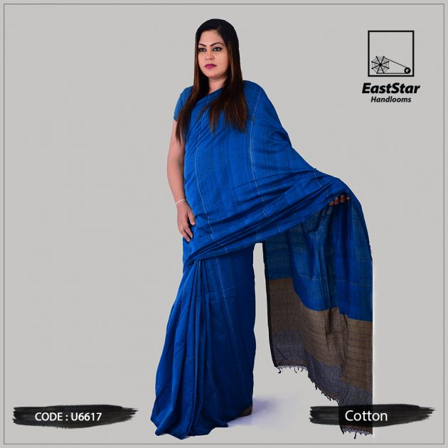 Handloom Cotton Saree U6617