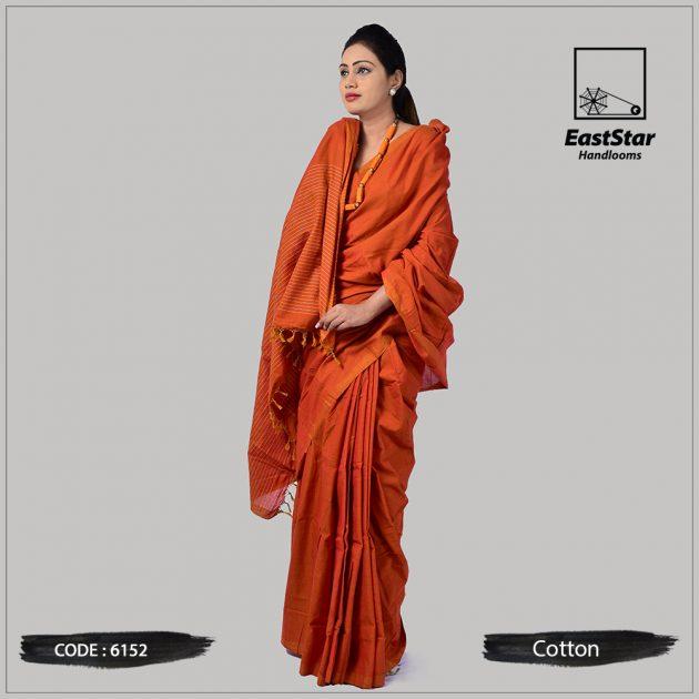 Handloom Cotton Saree 6152