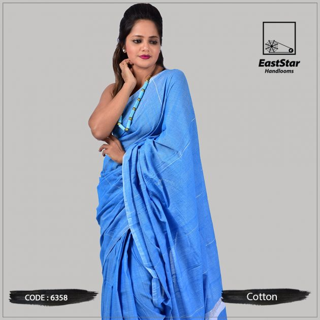 Handloom Cotton Saree 6358
