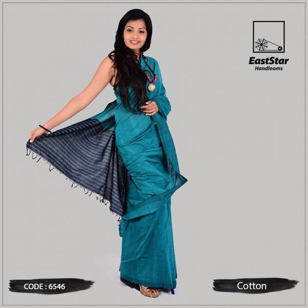 Handloom Cotton Saree 6546