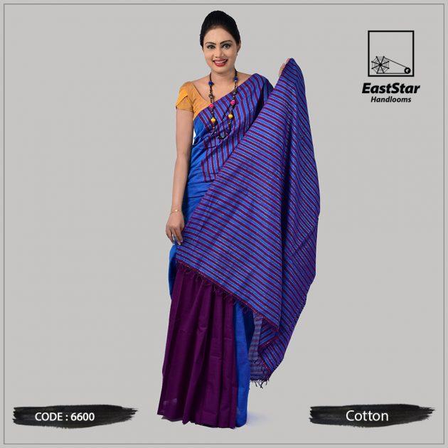Handloom Cotton Saree 6600