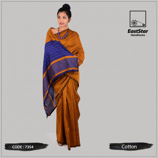 Handloom Cotton Saree 7354