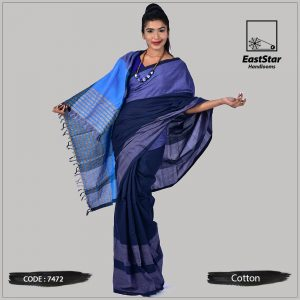 Handloom Cotton Saree 7472