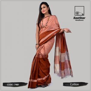 Handloom Cotton Saree 7481