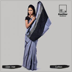 Handloom Cotton Saree 7509