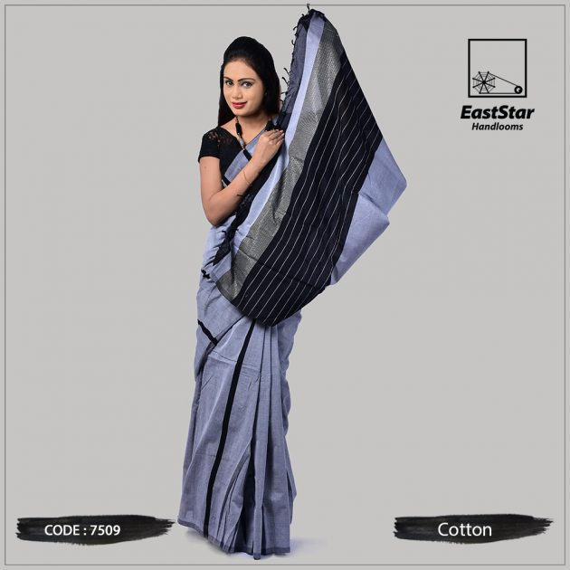 Handloom Cotton Saree 7509