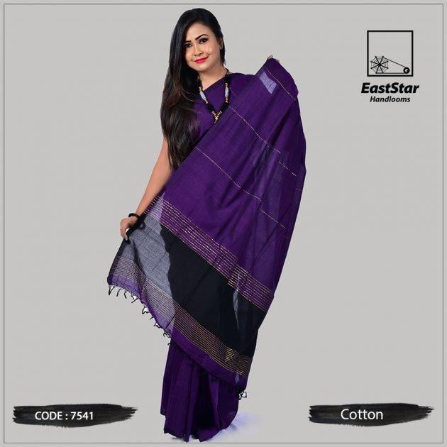 Handloom Cotton Saree 7541
