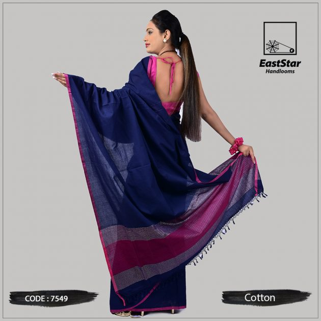 Handloom Cotton Saree 7549