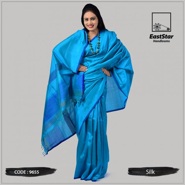 Handloom Silk Saree 9655