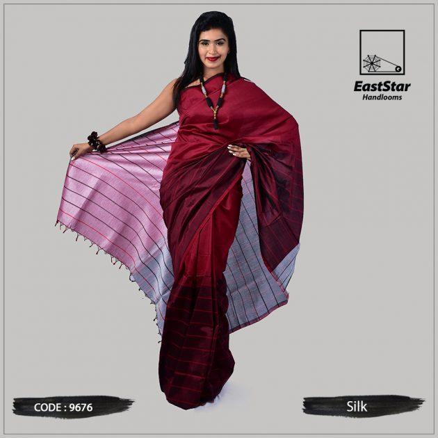 Handloom Silk Saree 9676