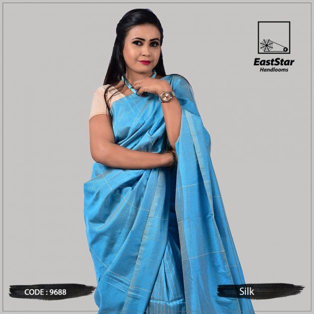 Handloom Silk Saree 9688