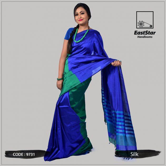 Handloom Silk Saree 9731