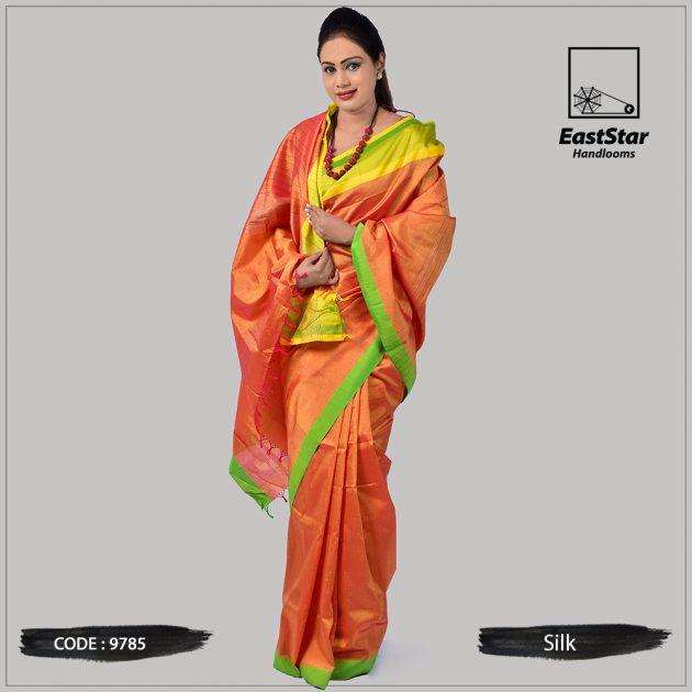 Handloom Silk Saree 9785
