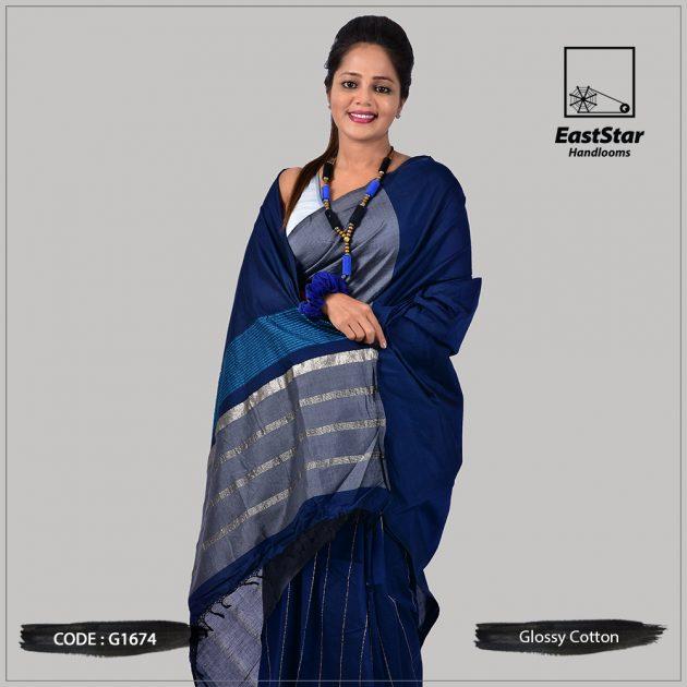 Handloom Glossy Cotton G1674