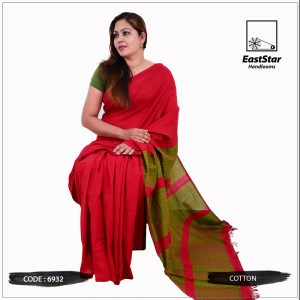 Handloom Cotton Saree 6932