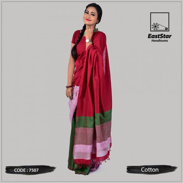 Handloom Cotton Saree 7507