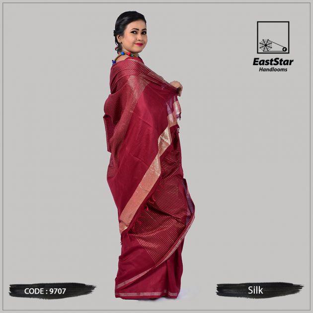 Handloom Silk Saree 9707