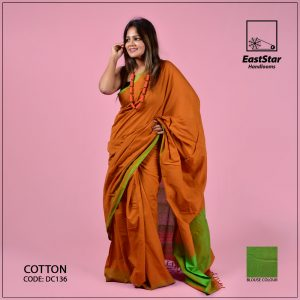 Handloom Cotton Saree DC136
