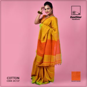 Handloom Cotton Saree DC137