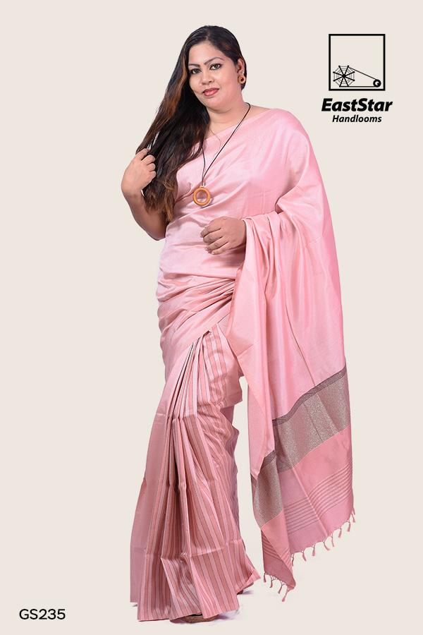 Soft silk saree, handwoven, simple saree